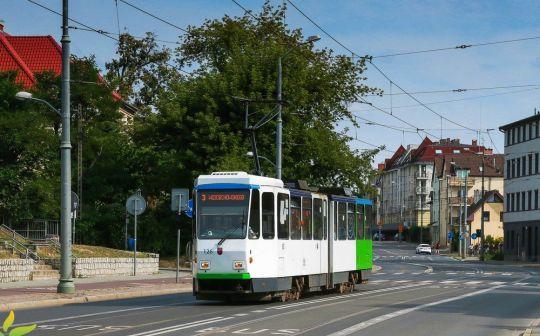 Do Lasu Arkońskiego znów można dojechać tramwajem